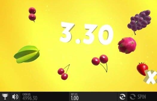 Крупный выигрыш в игровом автомате Fruit Warp